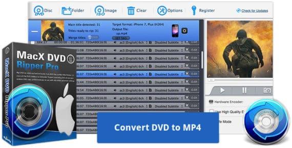 Convert DVD to MP4 Format