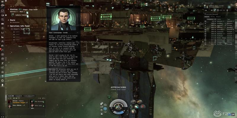 In game screenshot from MMORPG Eve Online