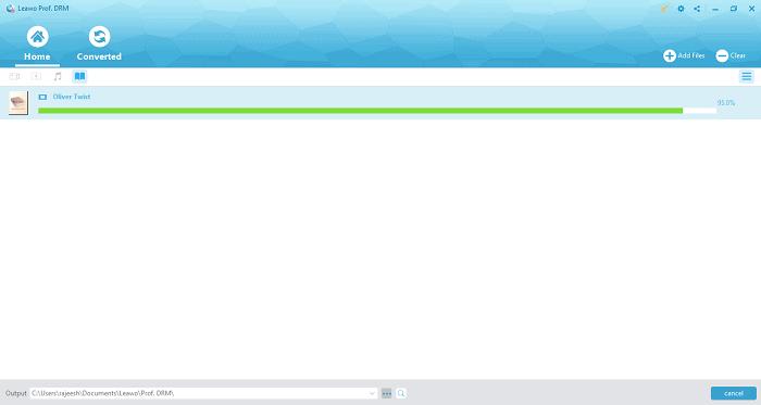 Leawo Prof. DRM Review - eBook Converter - Convert File