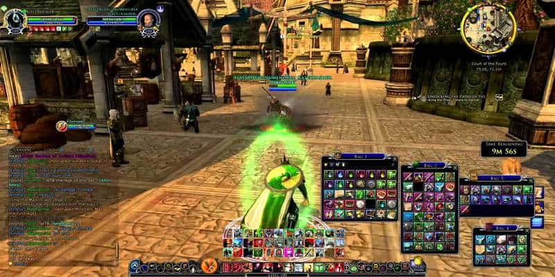 In game screenshot from best MMORPG online Lord of the Rings