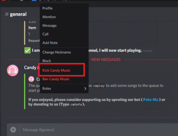 Remove bots from Discord server