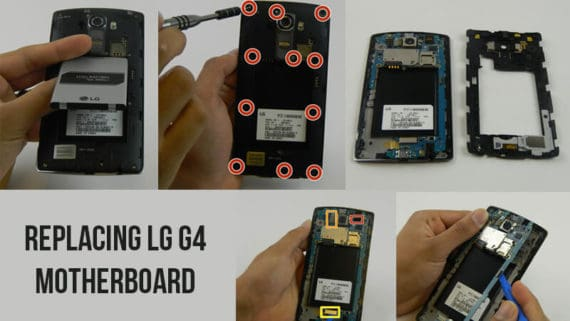 replacing LG G4 motherboard to fix bootloop problem