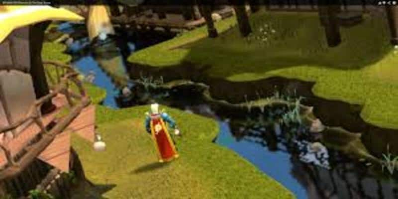 In game screenshot from best MMORPG for PC Runescape