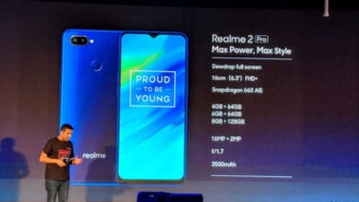 Realme 2 Pro Specifications