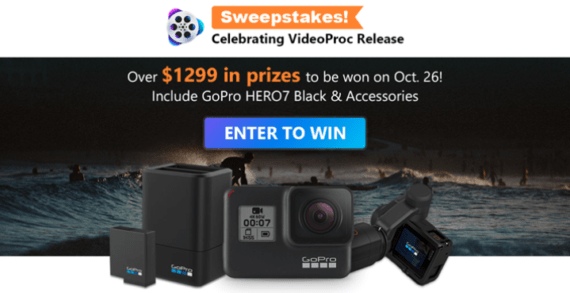 VideoProc Sweepstakes
