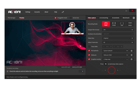 Action! Game Screen Recorder