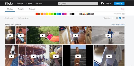Flickr best YouTube Alternative