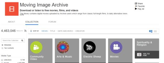 Internet's archive best YouTube alternative for documentaries