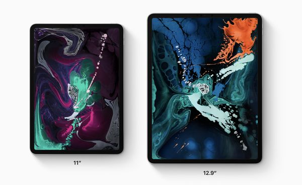 11 and 12.9 inch iPad Pro