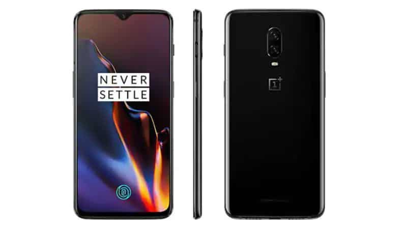 OnePlus 6T Font, Back and Side
