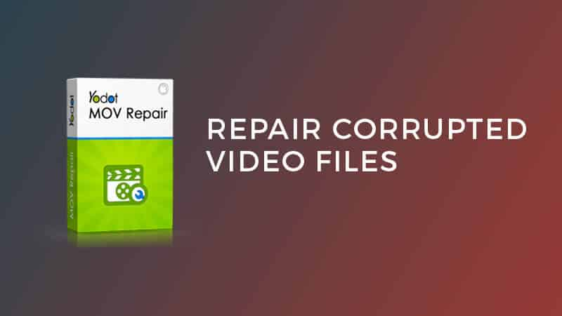 repair corrupted video files
