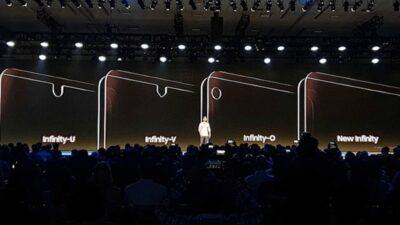 Infinity-V display on Galaxy M-series