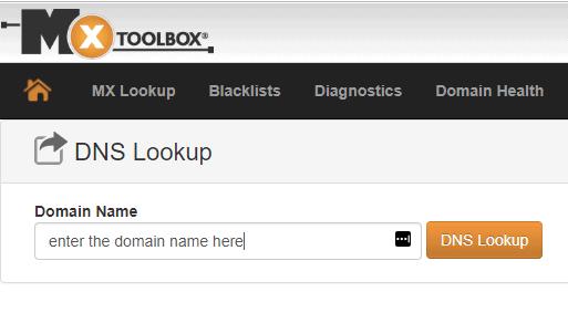 DNS Lookup tool