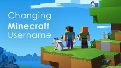 how to change minecraft username