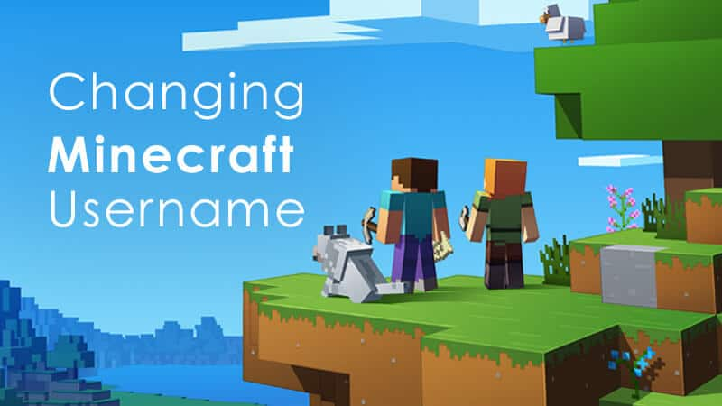 how to change minecraft username