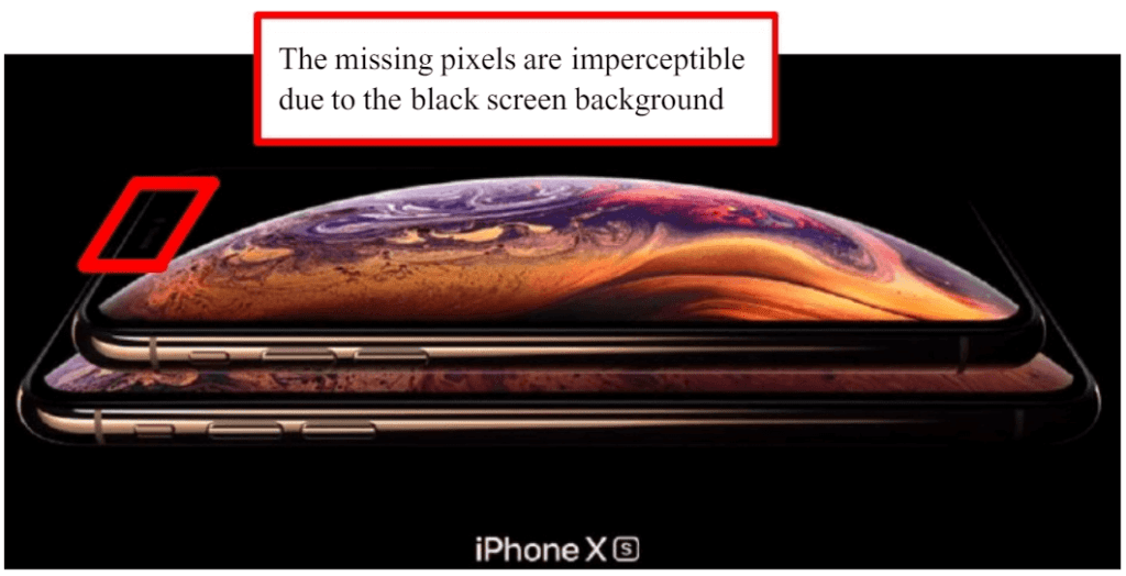 iPhone XS marketing material