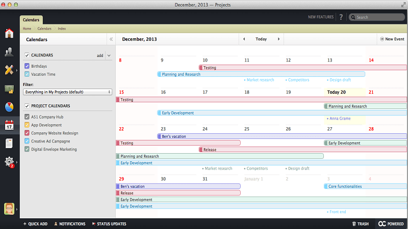 Active Collab Agile Project Management Software
