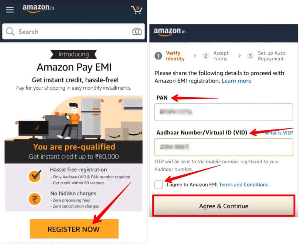 How to Register and Use Amazon Pay EMI [Detailed Guide]