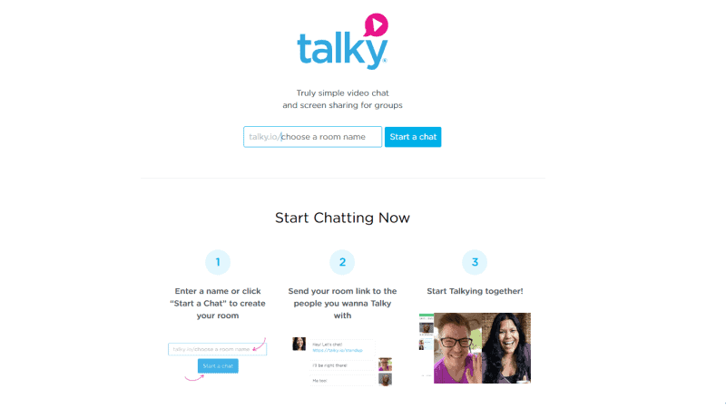 Talky.io Video Calling