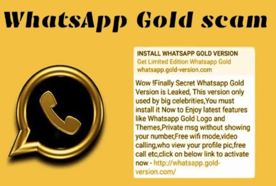 WhatsApp Gold' Viral Message is a Malware and You Should Not Forward It