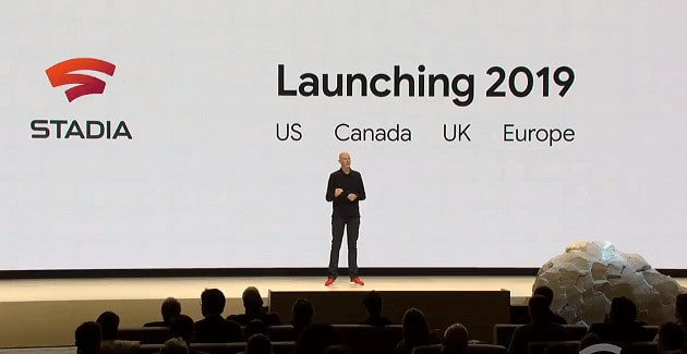 Stadia's Launch Dates