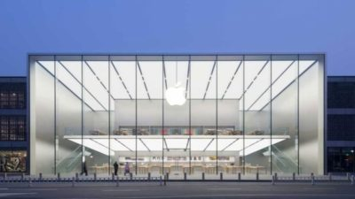 Apple Store in West Lake city of US