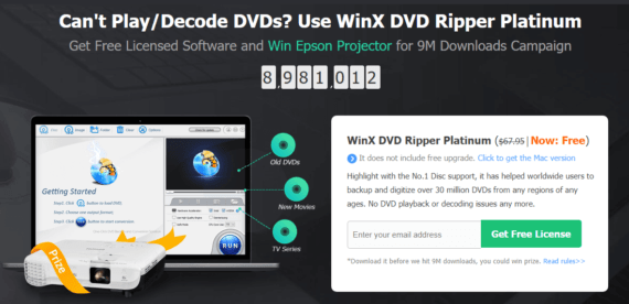 WinX DVD Ripper platinum offer period