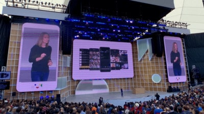 Android Q announcement at Google IO 2019