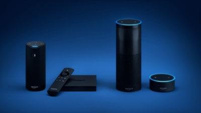 Alexa-powered Echo devices