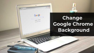 change chrome background