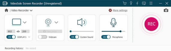 Set the Recording Area and Adjust the Sound