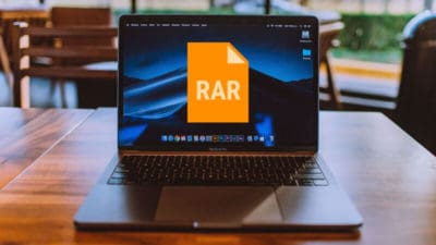 how to extract RAR files on MAC