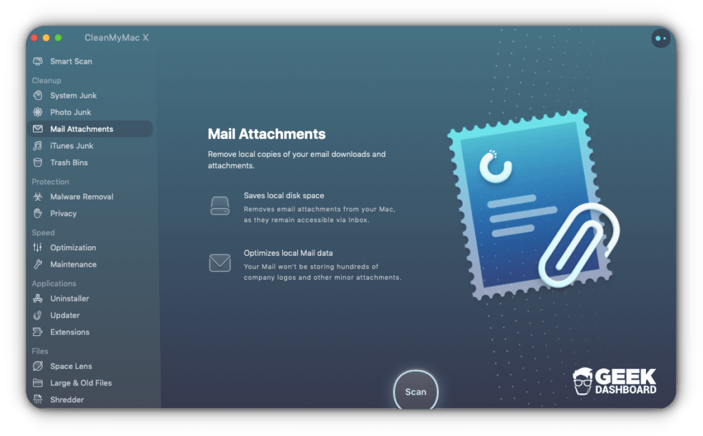 Email Attachment Cleaner