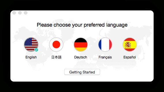 Choose Language