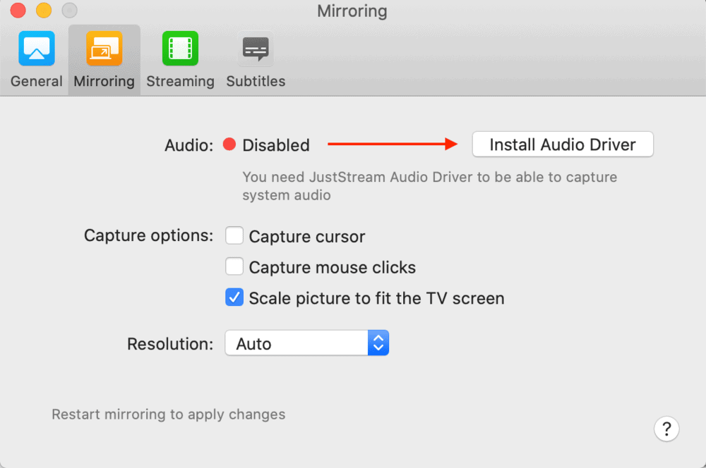 JustStream Audio Embed