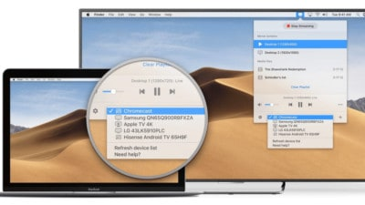 JustStream Screen Mirroring Mac