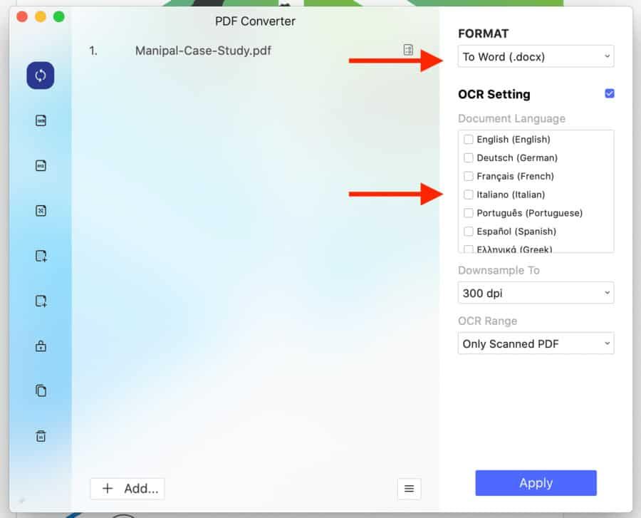 PDFelement for Mac File Converter