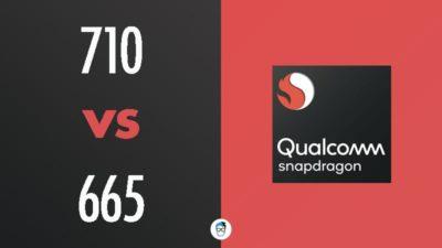Snapdragon 710 vs Snapdragon 665