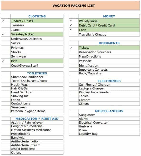 Productivity KPI Template in Excel Format