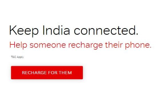 Airtel recharge for them