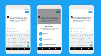 Twitter Response privacy