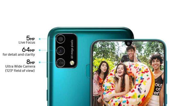 Galaxy M21s camera