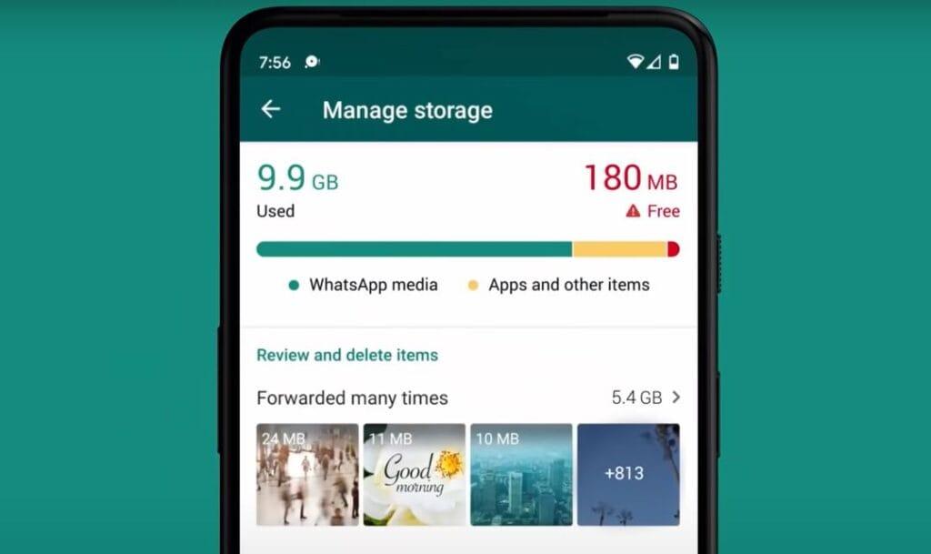 "WhatsApp added ""Manage Storage"" Feature"