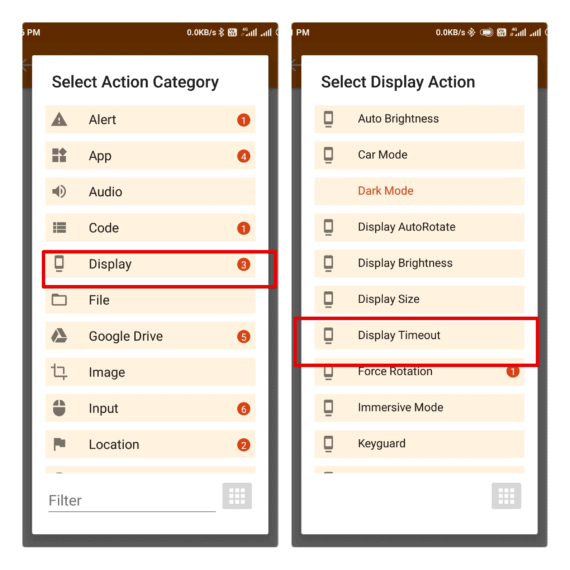 Tasker Profile Settings to Prevent Phone from Sleeping