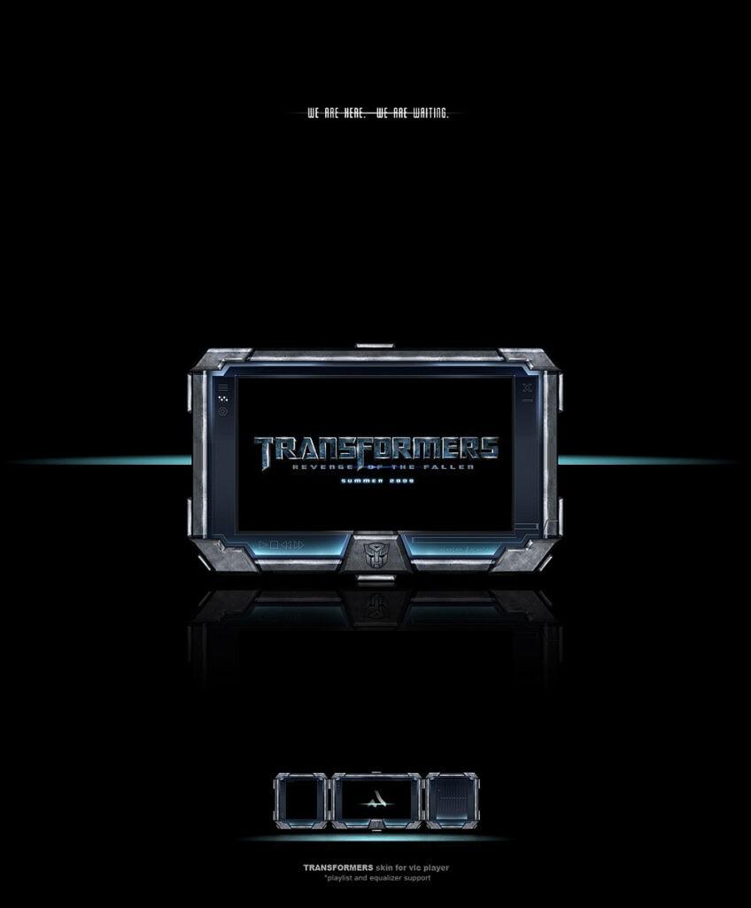 Transformers Skin by Adrenn - Best VLC Skins Right Now