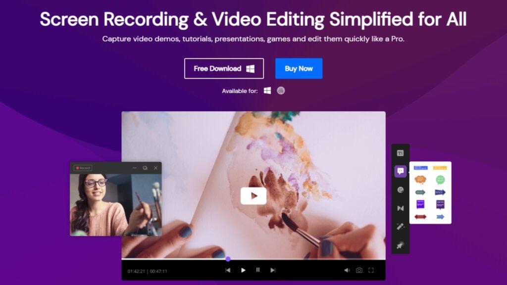 Wondershare DemoCreator Free Download