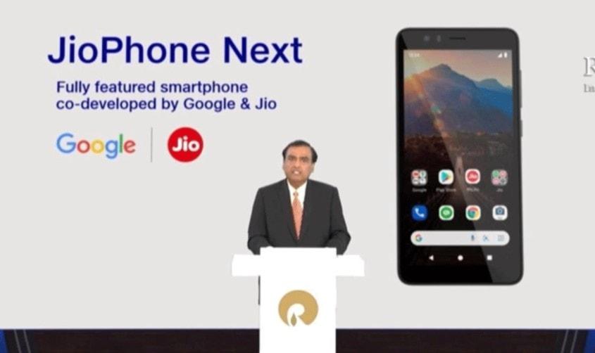 JioPhone Next With Pragati OS to Launch this Diwali Confirmed by Sundar Pichai