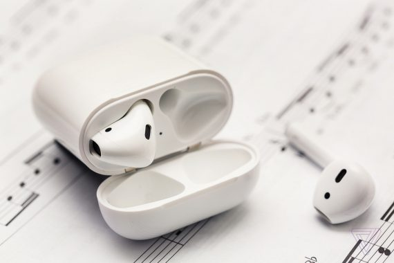 Apple's BeatsX headphones