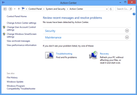 Configuring and Working With Windows 8 Action Center