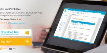 PDF editor for Windows and MAC